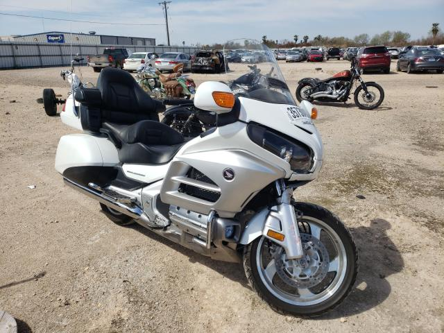 Salvage cars for sale from Copart Mercedes, TX: 2012 Honda GL1800