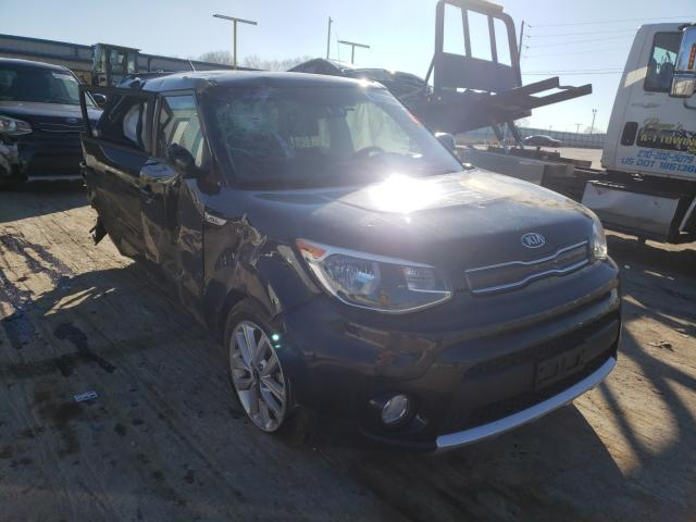 Salvage cars for sale from Copart Lebanon, TN: 2018 KIA Soul +