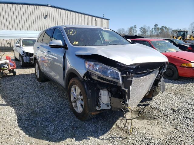 Salvage cars for sale from Copart Spartanburg, SC: 2019 KIA Sorento L