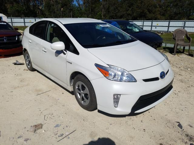 Salvage cars for sale from Copart Ocala, FL: 2013 Toyota Prius