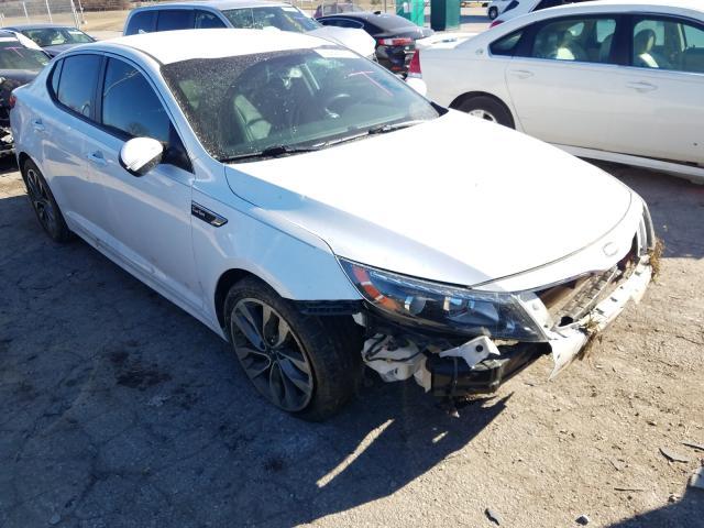 Salvage cars for sale from Copart Bridgeton, MO: 2014 KIA Optima SX