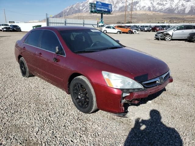 Salvage cars for sale from Copart Farr West, UT: 2006 Honda Accord SE