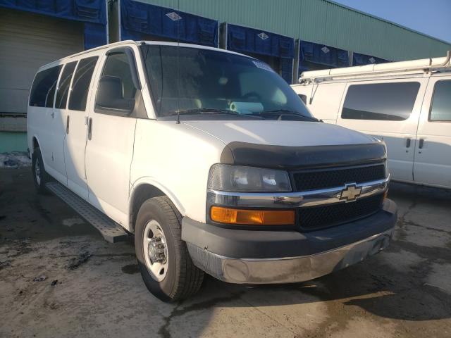 Salvage cars for sale from Copart Columbus, OH: 2011 Chevrolet Express G3