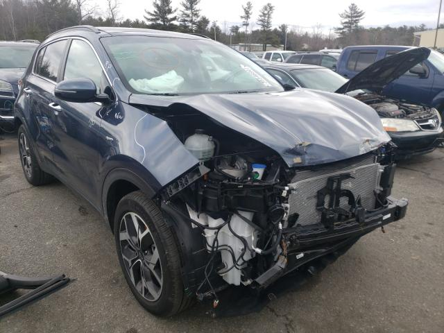Salvage cars for sale from Copart Exeter, RI: 2020 KIA Sportage E