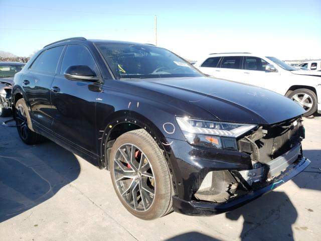 Audi Q8 Prestige salvage cars for sale: 2020 Audi Q8 Prestige