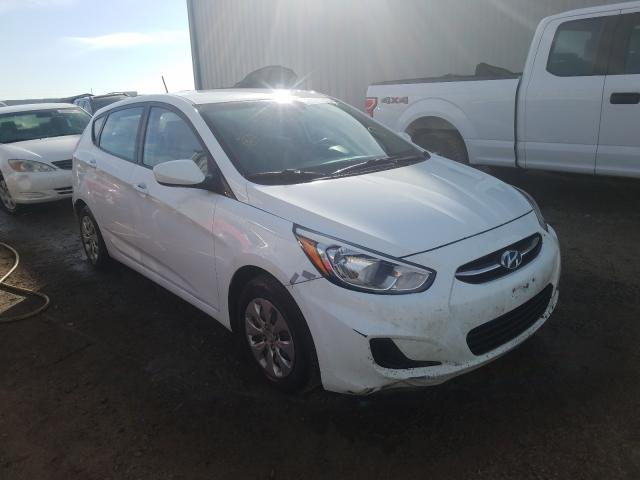 Salvage cars for sale from Copart Helena, MT: 2015 Hyundai Accent GS
