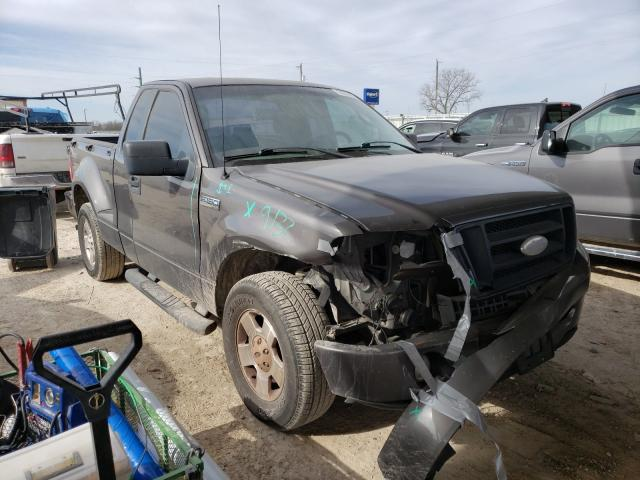 Salvage cars for sale from Copart Temple, TX: 2007 Ford F150