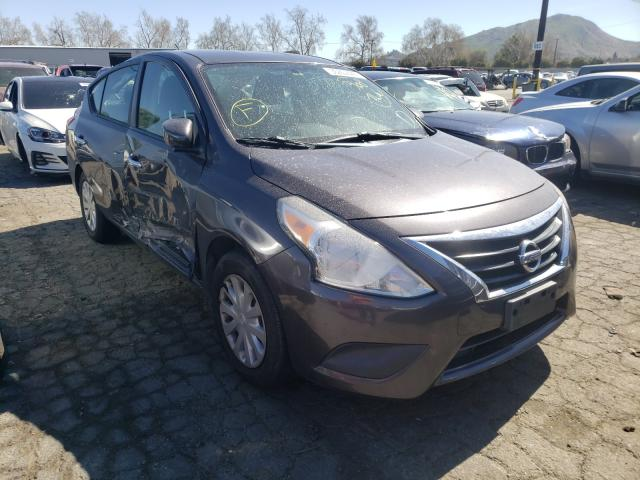 Salvage cars for sale from Copart Colton, CA: 2015 Nissan Versa S