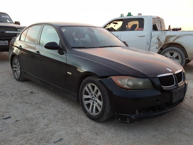 Salvage cars for sale from Copart San Antonio, TX: 2007 BMW 328 I