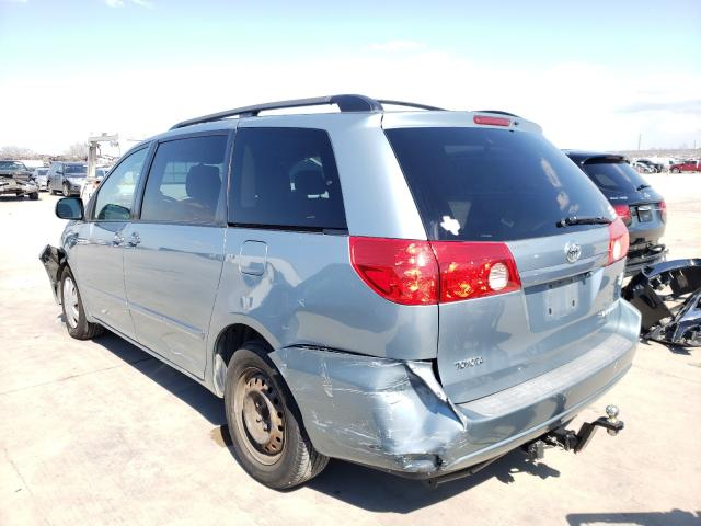 2008 TOYOTA SIENNA CE - Right Front View