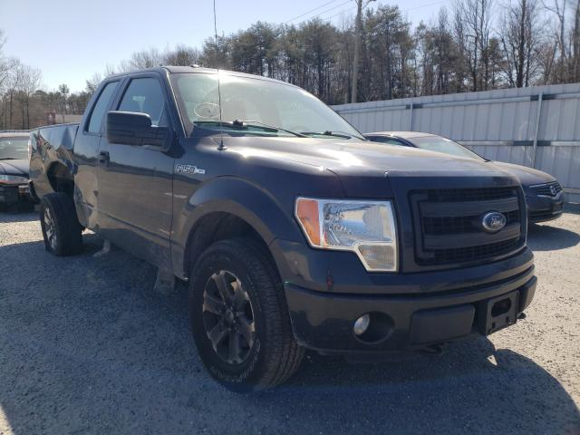 Salvage cars for sale from Copart Fredericksburg, VA: 2013 Ford F150 Super