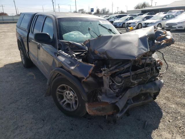 Salvage cars for sale from Copart Corpus Christi, TX: 2001 Dodge Dakota Quattro