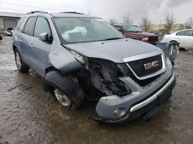 Salvage cars for sale from Copart Eugene, OR: 2008 GMC Acadia SLT