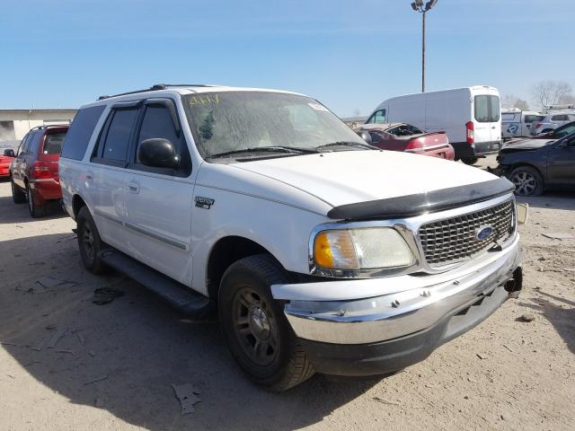Salvage cars for sale from Copart Indianapolis, IN: 2001 Ford Expedition
