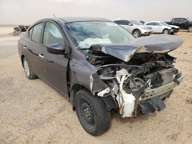 Salvage cars for sale from Copart Andrews, TX: 2015 Nissan Versa S