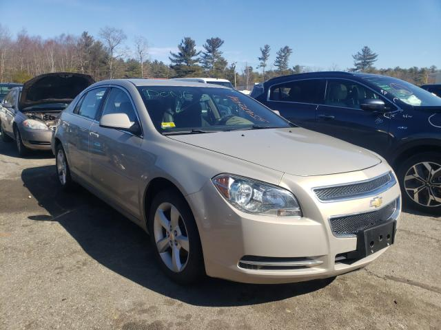 Salvage cars for sale from Copart Exeter, RI: 2011 Chevrolet Malibu 1LT