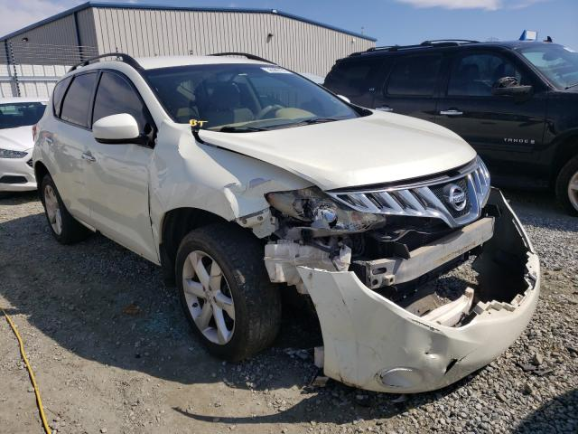 Salvage cars for sale from Copart Spartanburg, SC: 2009 Nissan Murano S