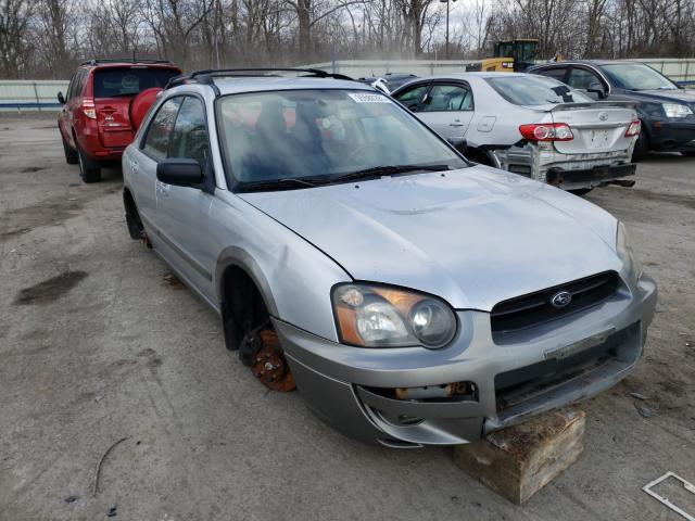 Salvage cars for sale from Copart Ellwood City, PA: 2005 Subaru Impreza