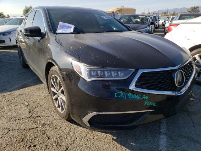 Salvage cars for sale from Copart Colton, CA: 2018 Acura TLX Tech