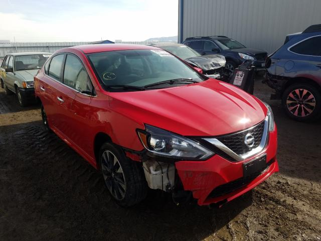 Salvage cars for sale from Copart Helena, MT: 2019 Nissan Sentra S