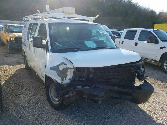 Salvage cars for sale from Copart Hurricane, WV: 2006 Chevrolet Express
