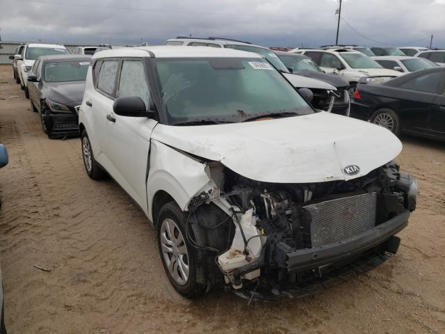 Salvage cars for sale from Copart Amarillo, TX: 2020 KIA Soul LX