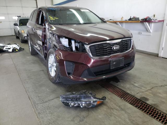 Salvage cars for sale from Copart Pasco, WA: 2019 KIA Sorento LX