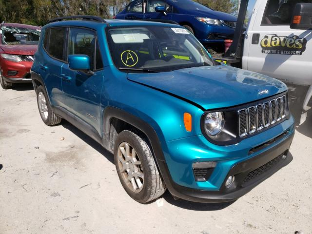 Salvage cars for sale from Copart Ocala, FL: 2020 Jeep Renegade L