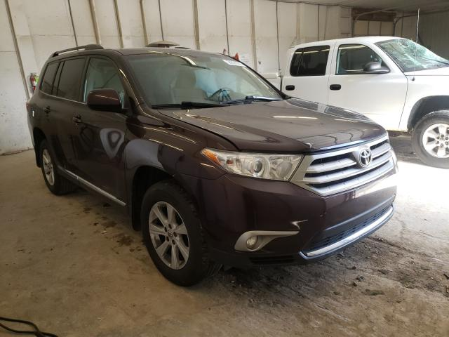 Salvage cars for sale from Copart Madisonville, TN: 2013 Toyota Highlander