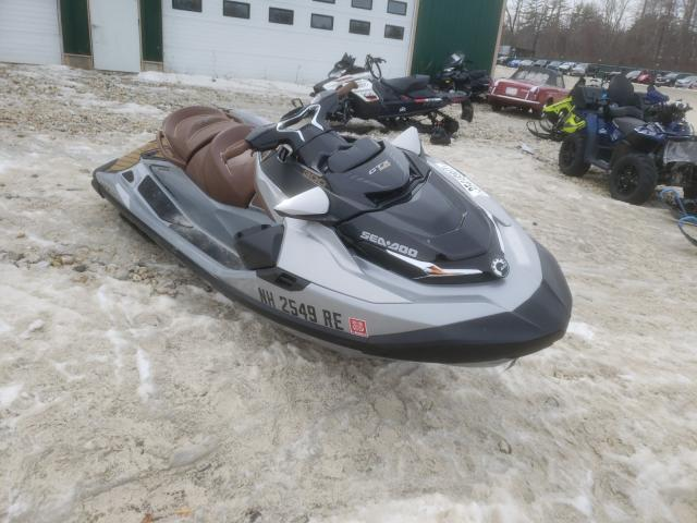 Salvage cars for sale from Copart Candia, NH: 2019 Seadoo Jetski
