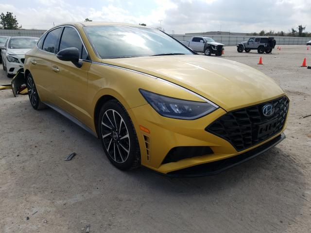 Hyundai Sonata SEL salvage cars for sale: 2020 Hyundai Sonata SEL