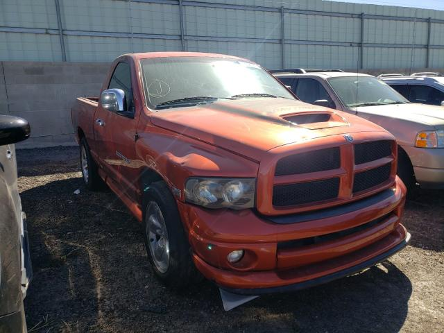 Salvage cars for sale from Copart Albuquerque, NM: 2005 Dodge RAM 1500 S