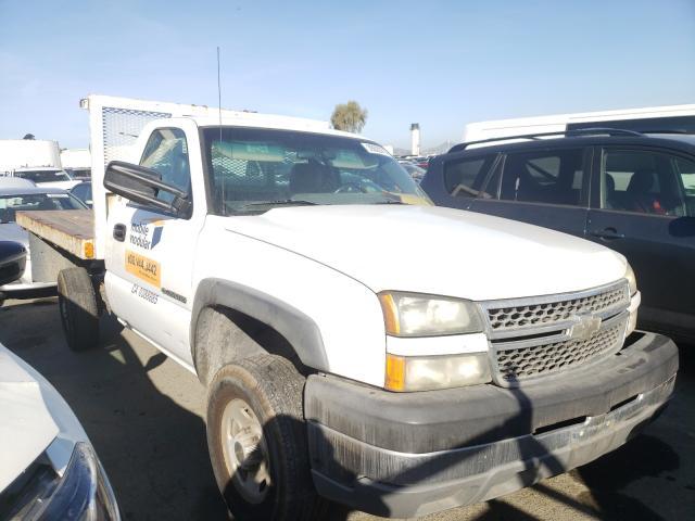 Salvage cars for sale from Copart Martinez, CA: 2005 Chevrolet Silverado