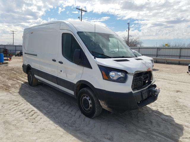 Salvage cars for sale from Copart Abilene, TX: 2019 Ford Transit T