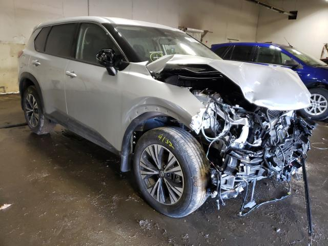 Nissan salvage cars for sale: 2021 Nissan Rogue SV