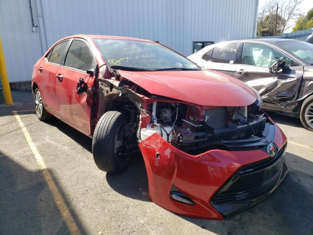 Salvage cars for sale from Copart Vallejo, CA: 2019 Toyota Corolla L