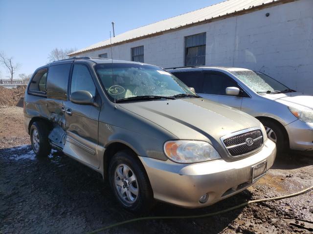 Salvage cars for sale from Copart Hillsborough, NJ: 2005 KIA Sedona EX