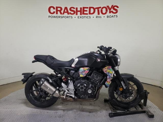 Salvage cars for sale from Copart Dallas, TX: 2019 Honda CB1000 RA