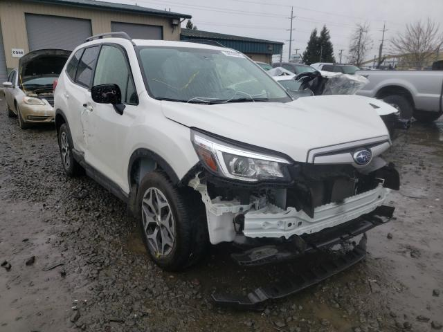Salvage cars for sale from Copart Eugene, OR: 2020 Subaru Forester P