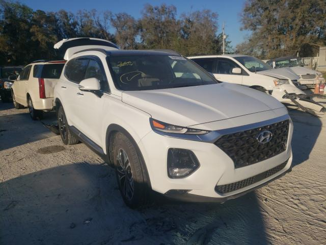 Salvage cars for sale from Copart Ocala, FL: 2019 Hyundai Santa FE L
