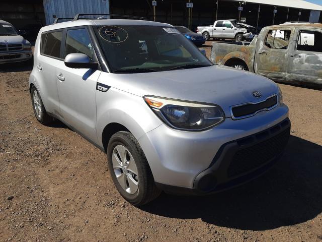 Salvage cars for sale from Copart Phoenix, AZ: 2015 KIA Soul