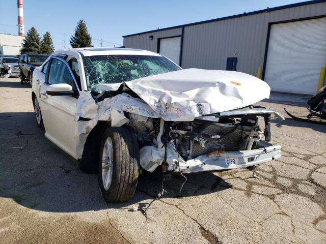 Salvage cars for sale from Copart Lansing, MI: 2015 Ford Taurus SEL