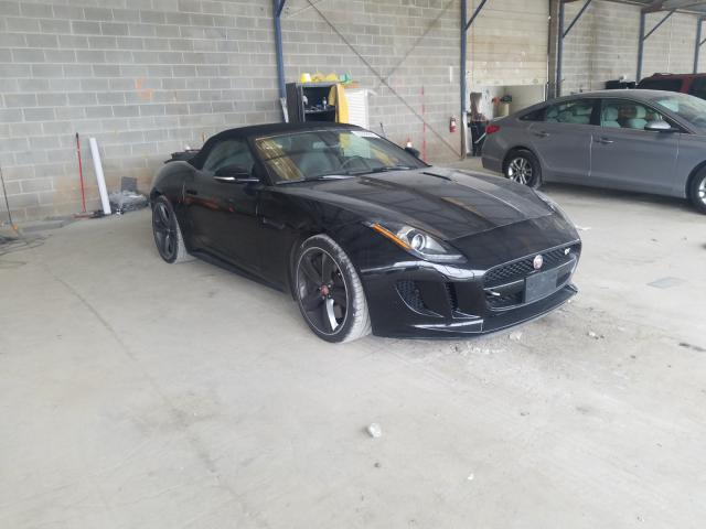 Jaguar salvage cars for sale: 2015 Jaguar F-TYPE V8
