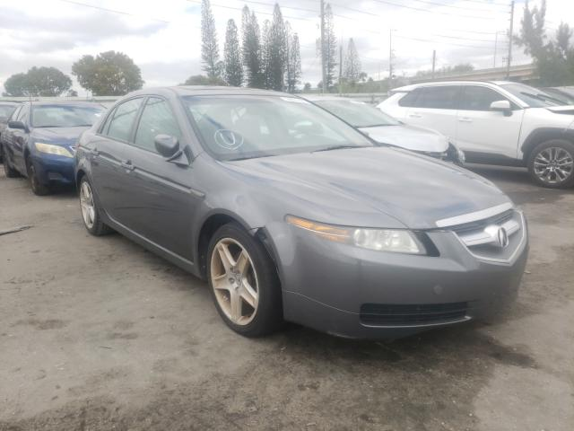 Salvage 2005 ACURA TL - Small image. Lot 35675491