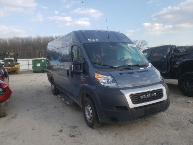Salvage cars for sale from Copart Hampton, VA: 2020 Dodge RAM Promaster