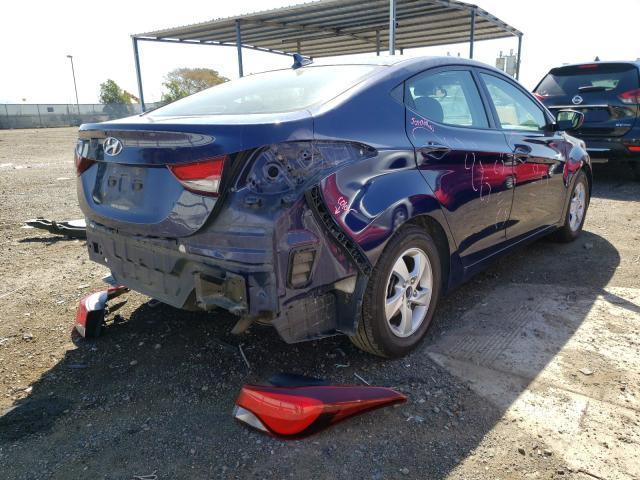 2014 Hyundai ELANTRA | Vin: 5NPDH4AE0EH528594