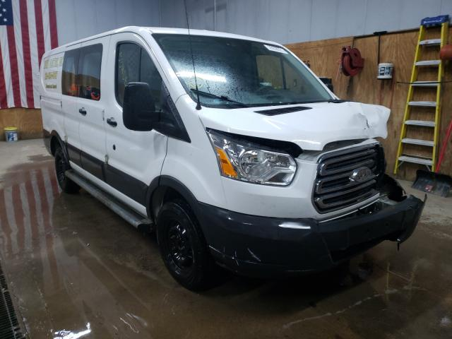 Salvage cars for sale from Copart Kincheloe, MI: 2016 Ford Transit T