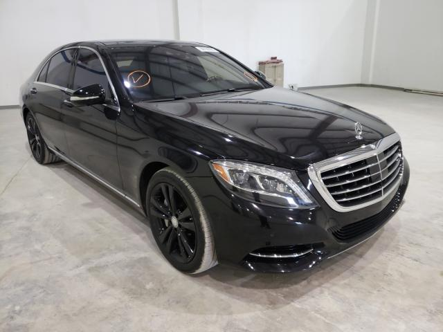 Mercedes-Benz salvage cars for sale: 2016 Mercedes-Benz S 550 4matic
