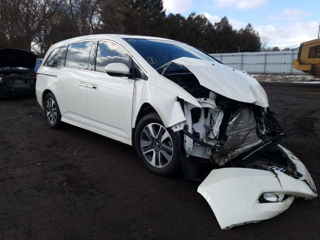 Salvage cars for sale from Copart London, ON: 2014 Honda Odyssey TO