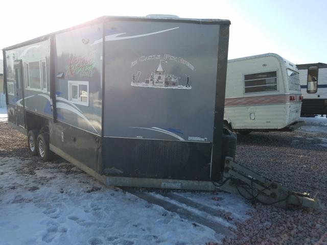 Salvage trucks for sale at Avon, MN auction: 2018 AME Trailer